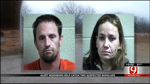 Alert Neighbors Help Catch Two Suspected Burglars Near Tecumseh