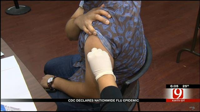 Oklahoma Doctor Talks About Flu After CDC Declares Epidemic