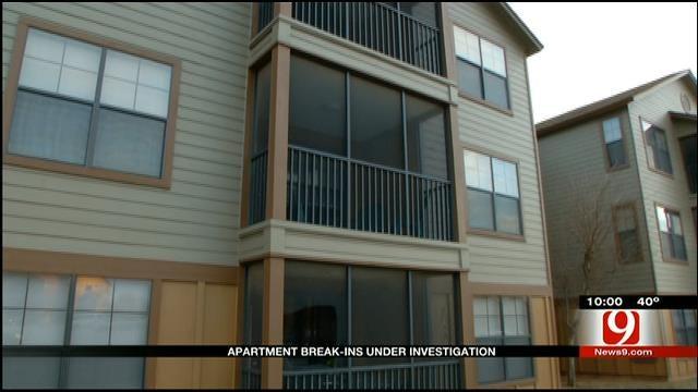 Norman Apartment Break-Ins Under Investigation