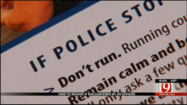 OKC Police Offer Advice For Encounters With Officers