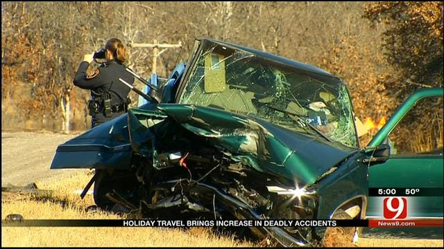 Holiday Travel Brings Increase In Accidents