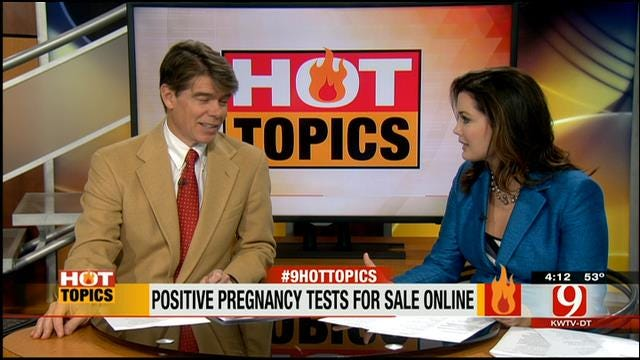 HOT TOPIC: Positive Pregnancy Tests For Sale Online