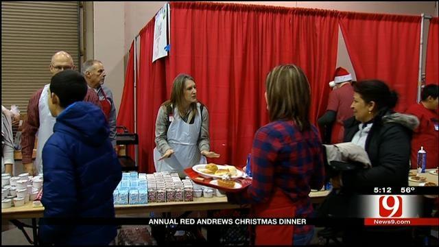Red Andrews Christmas Dinner