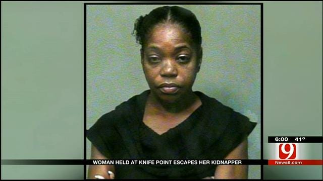 OKC Woman Held At Knifepoint, Escapes 'Thirsty' Captor