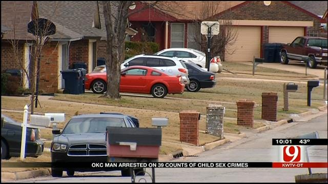 OKC Man In Jail On 39 Counts Of Child Sex Crimes