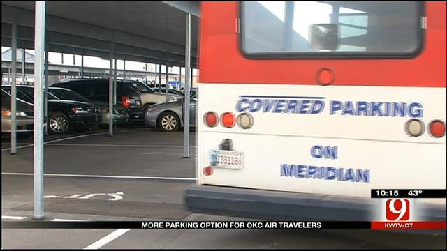 New Parking Option For OKC Air Travelers