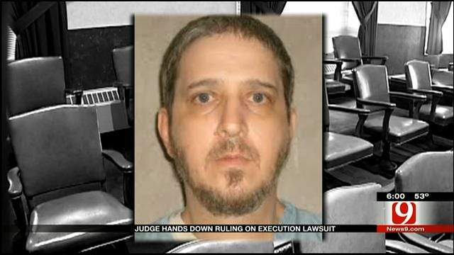 Judge Rules Oklahoma's Execution Cocktail Is Constitutional
