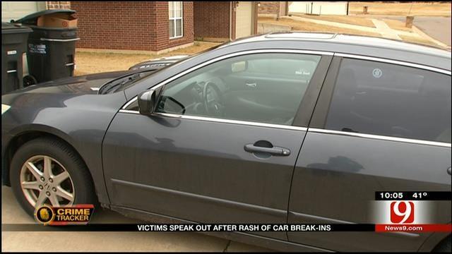 Moore Car Break Ins; Victims Speak Out