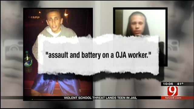 Violent School Threat Lands Oklahoma Teen In Jail