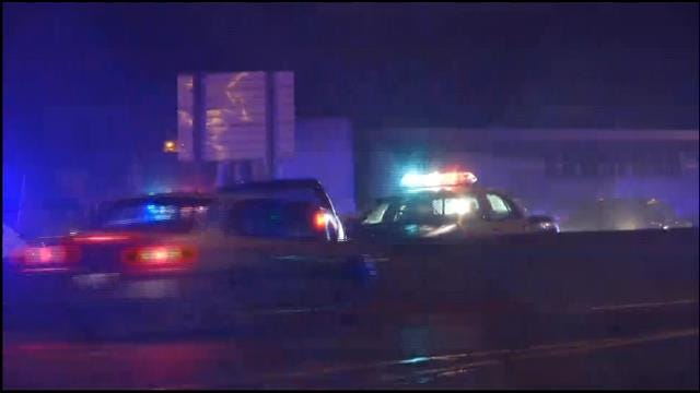 OKC Car Chase Ends In Crash