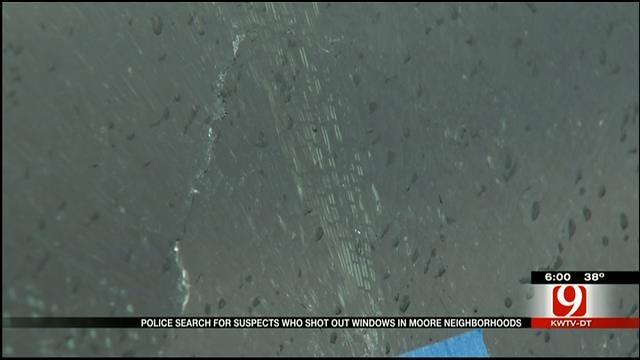 Car Windows Shot In Moore