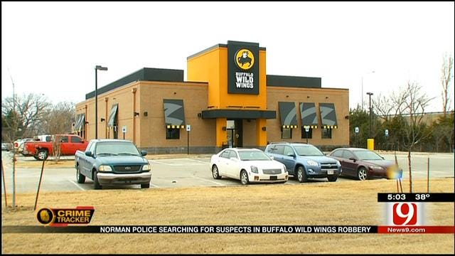 Norman Police Searching For Suspects In Robbery At Buffalo Wild Wings