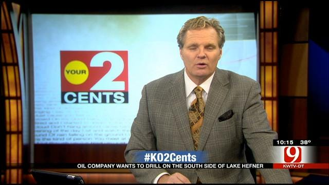 Your 2 Cents: Oil Company Wants To Drill At Lake Hefner