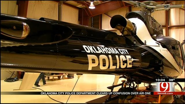 OKC Police Clears Up Confusion Over Air One