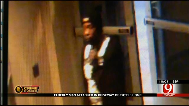 Suspect Attacks And Robs Elderly Man In Driveway Of Tuttle Home