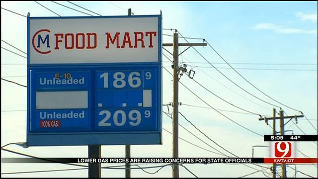 Lower Gas Prices Raise Concerns For State Officials