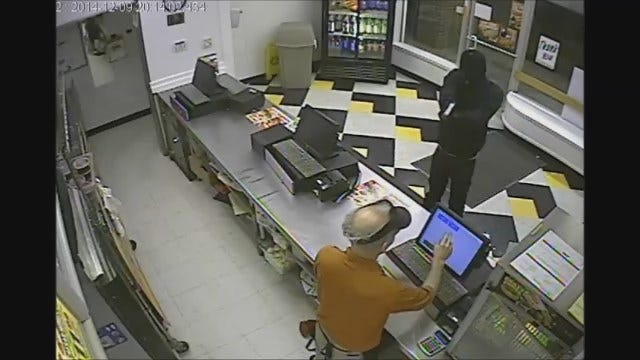 WEB EXTRA: Armed Robbery At Little Caesars Restaurant In OKC