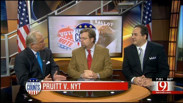 Your Vote Counts: Pruitt V. NYT
