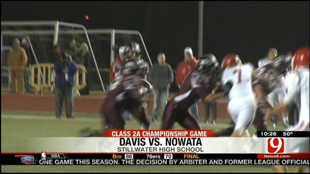 Davis vs. Nowata Highlights