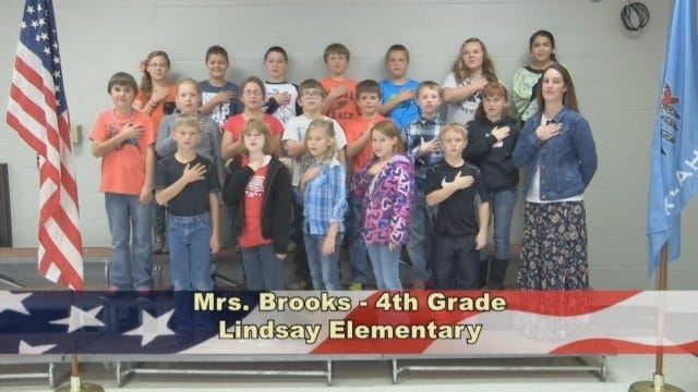 Mrs. Brook's 4th Grade class at Lindsay Elementary School