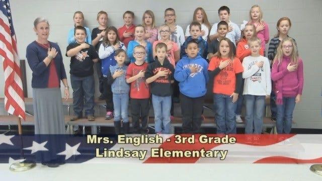 Mrs. English's 3rd Grade class at Lindsay Elementary School