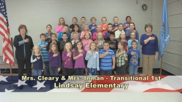 Mrs. Cleary and Mrs. Inman's Transitional 1st Grade class at Lindsay Elementary School