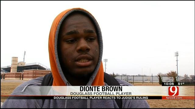 Douglass High School Football Player React's To Judge's Ruling