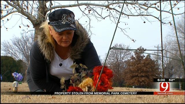 Memorial Park Cemetery Robbery In OKC