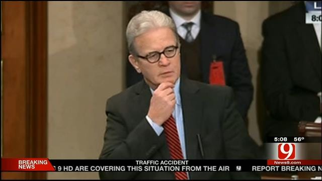 U.S. Senator Coburn Gives Emotional Farewell Address To Senate