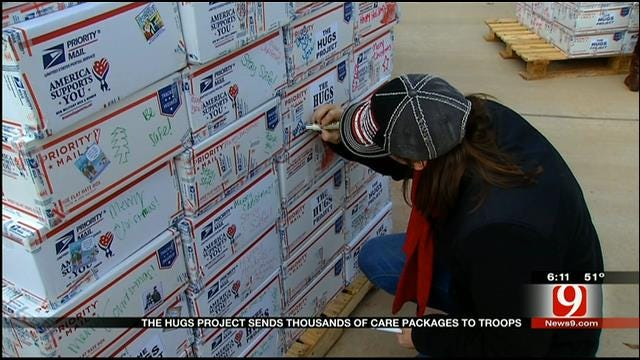 The Hugs Project Sends Care Packages To Troops
