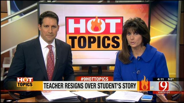 HOT TOPIC: Creative Writing Assignment Sparks Controversy