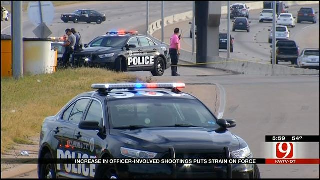Fourteen Officer-Involved Shootings In OKC This Year