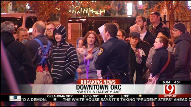Crews Put Out Fire At Downtown OKC Apartment Building