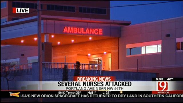 Nurses Attacked At Oklahoma City Hospital