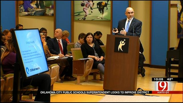 OKCPS Superintendent Outlines Critical Issues In The District