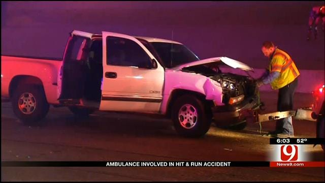 EMSA Ambulance Involved In Hit-And-Run Over The Weekend