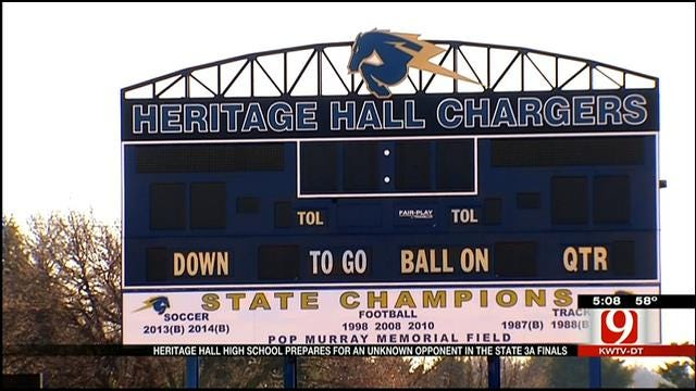 Heritage Hall Keeps Up Routine Ahead Of 3A Playoff Ruling