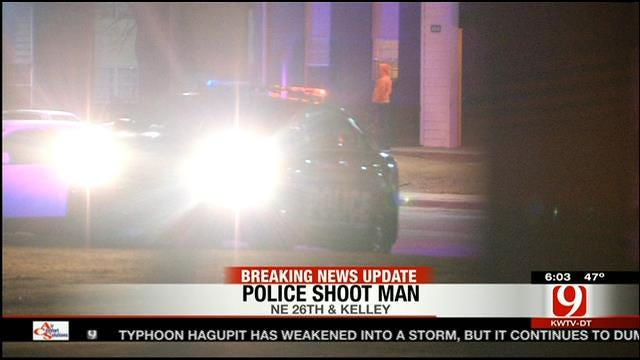 Police Investigate Officer-Involved Shooting In NE OKC
