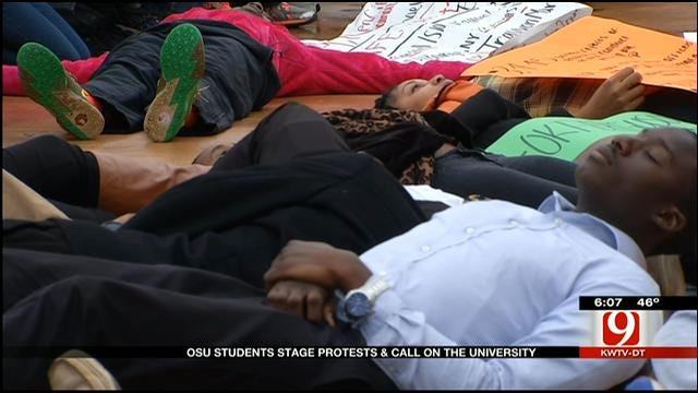 Student Group Holds 'Die-In' On OSU Campus