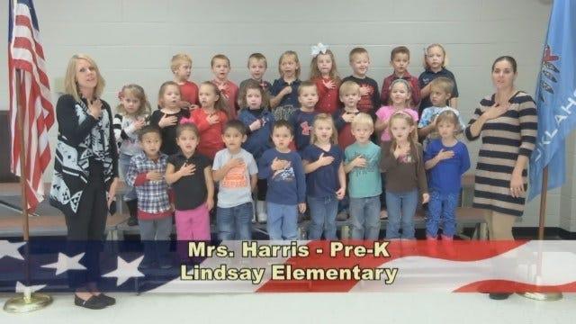 Mrs. Harris' Pre-K Class At Lindsay Elementary