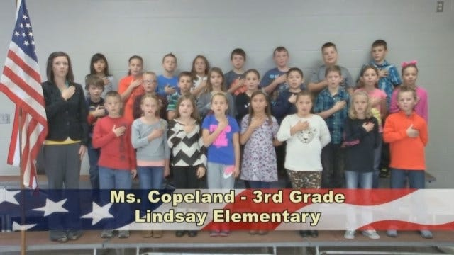 Ms. Copeland's 3rd Grade Class At Lindsay Elementary