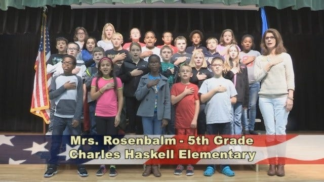 Mrs. Rosenbalm's 5th Grade Class At Charles Haskell Elementary