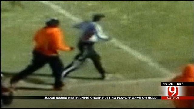 Judge Issues Restraining Order Putting OK Playoff Game On Hold