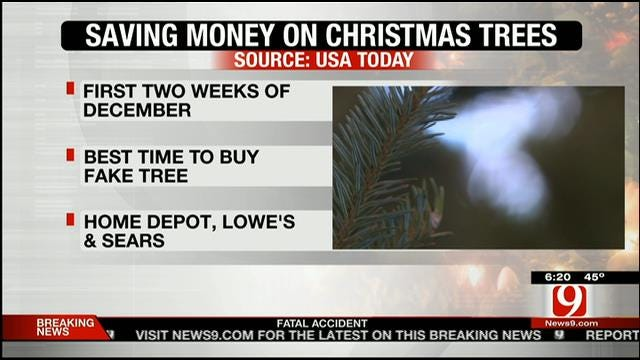 Best Time To Save Money On Christmas Trees
