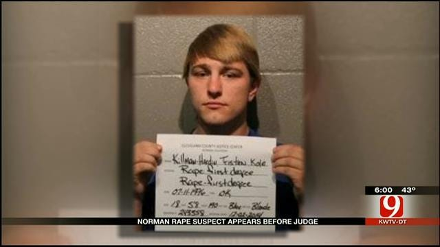 Norman High School Rape Suspect Appears Before Judge