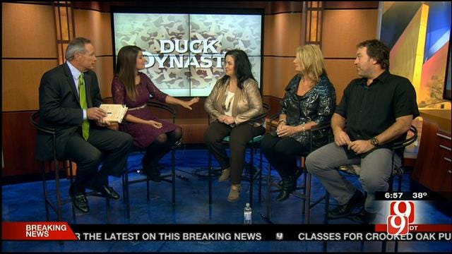 'Duck Dynasty' Stars Visit News 9 This Morning