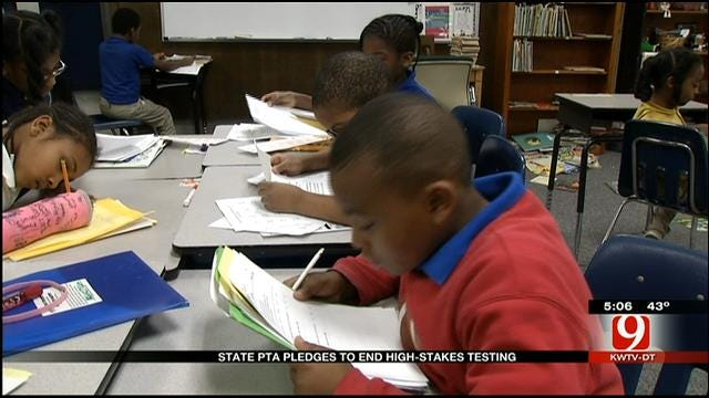 Oklahoma PTA Calls For End To High Stakes Testing