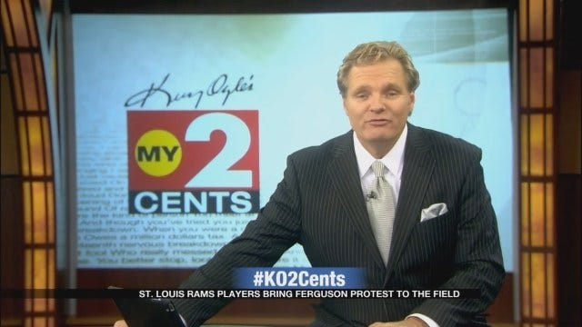 My 2 Cents: St. Louis Rams Take Ferguson Protest To The Field