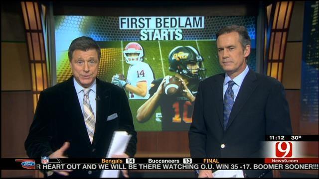 Quarterbacks' First Bedlam Starts, Score Predictions