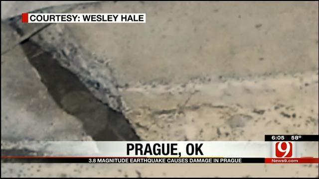 Oklahoma Earthquakes Cause Alarm, Damage Sunday